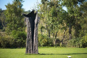 Magdalena Abakanowicz: Handlike Tree - Figura Ultima, (Foto: KUNST@SH/Jan Petersen)