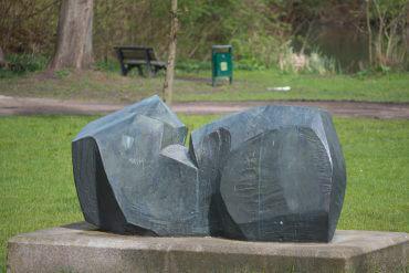 Manfred Sihle-Wissel: Rendsburger Skulptur, (Foto: KUNST@SH/Jan Petersen)