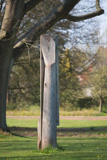 Manfred Sihle-Wissel: Stele, (Foto: KUNST@SH/Jan Petersen, 2016)
