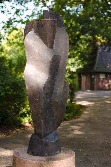 Manfred Sihle-Wissel: Gisela III - Stele Rendsburg, (Foto: KUNST@SH/Jan Petersen)
