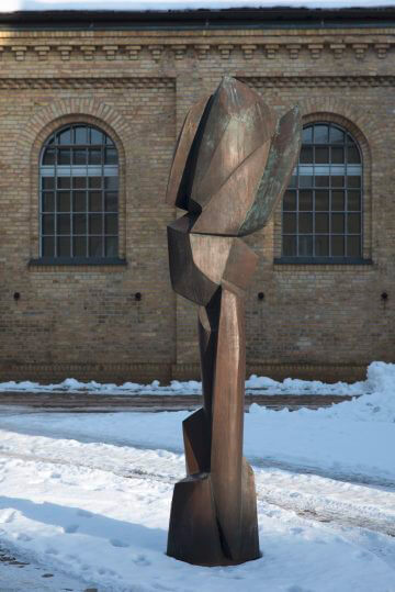 Manfred Sihle-Wissel: Segelsäule, (Foto: KUNST@SH/Jan Petersen)