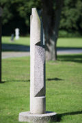 Manfred Sihle-Wissel: Stele