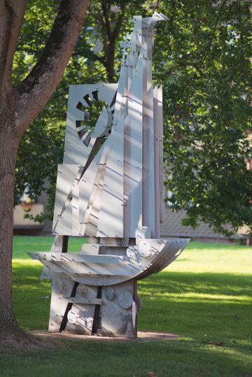 Martin Frey: Idee eines Segelschiffs, (Foto: KUNST@SH/Jan Petersen)