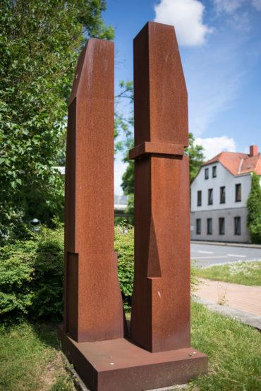 Jörg Plickat: Dual, (Foto: KUNST@SH/Jan Petersen)