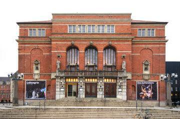 Portalschmuck am Kieler Opernhaus, (Foto: KUNST@SH/Jan Petersen)