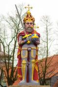 Rolandfigur in Wedel