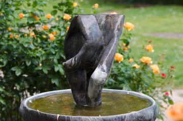 Karl-Henning Seemann: Brunnen für die ehemalige Klosterkirche Kiel, (Foto: KUNST@SH/Jan Petersen)