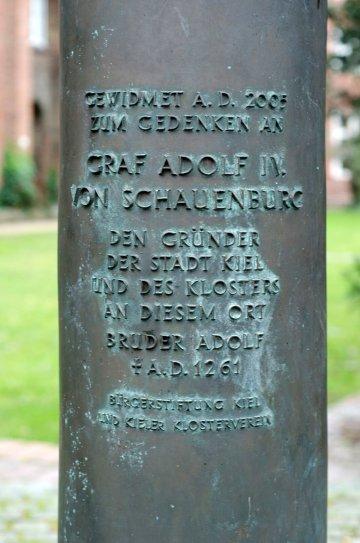 Karl-Henning Seemann: Graf Adolf IV. von Schauenburg, (Foto: KUNST@SH/Jan Petersen)