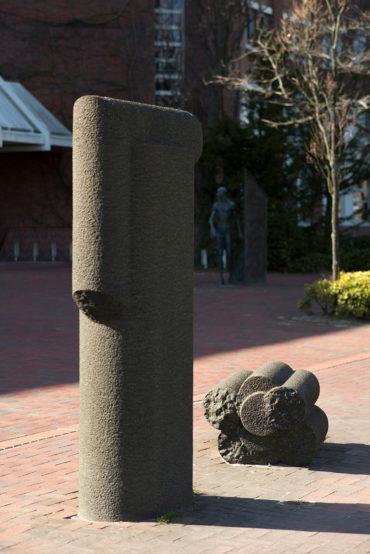 Skulptur in Heide, (Foto: KUNST@SH/Jan Petersen)