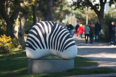 Sven Backstein: Zebra, (Foto: KUNST@SH/Jan Petersen)