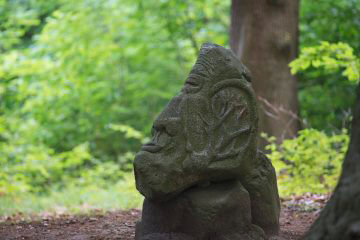Harald Thoms: Angesichts des Waldsterbens, (Foto: KUNST@SH/Jan Petersen)