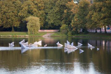 Ulrich Behl: Das Schwimmobjekt, (Foto: KUNST@SH/Jan Petersen)