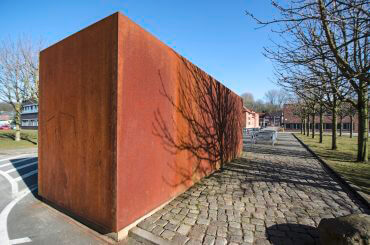 Ulrich Eller: Eisenblock, (Foto: KUNST@SH/Jan Petersen)