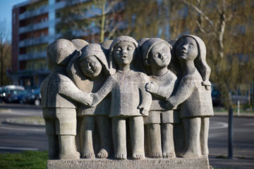 Ursula Hensel-Krüger: Kindergruppe Unicef, (Foto: KUNST@SH/Jan Petersen)