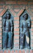 Wandschmuck aus Keramik im Marineviertel Kiel