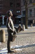 Frauke Wehberg: Zeitungsjunge