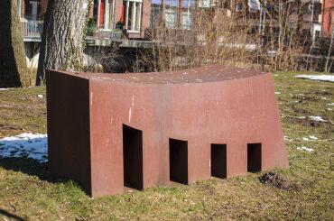 Winni Schaak: Architektur I, (Foto: KUNST@SH/Jan Petersen)